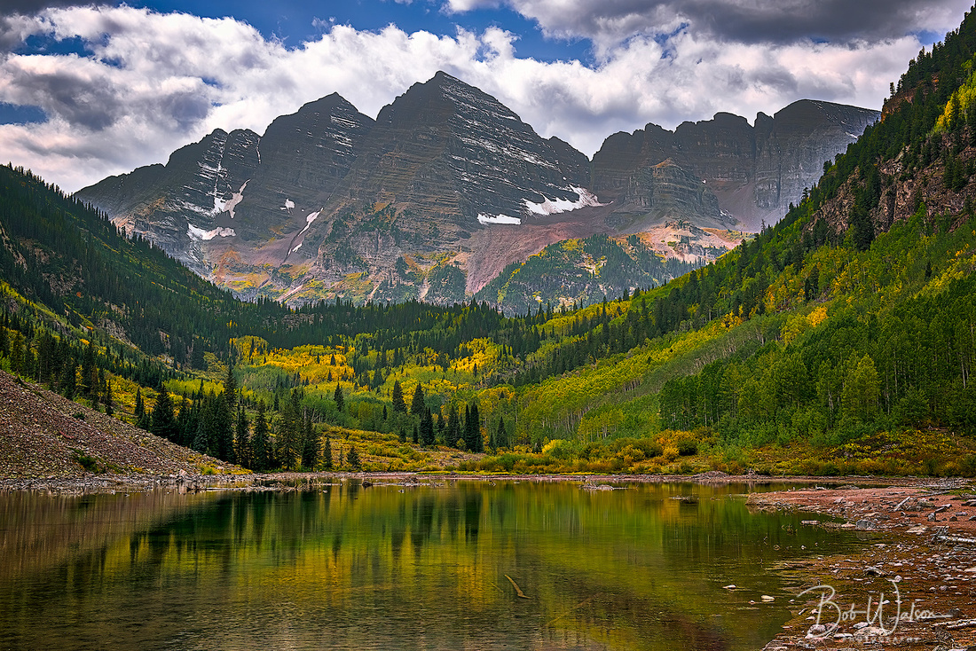 Maroon Bells in Autumn, Colorado