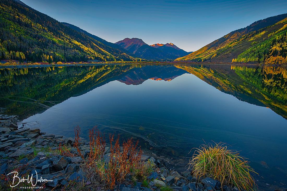 Crystal Lake Sunrise, Uncompahgre National Forest, San Juan Mountains, Colorado
