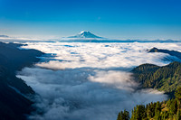 Mount Adams in Oregon, part of the Cascade Mountain Range