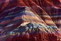 Amazing sandstone colors along the Paria River southern Utah