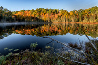 Morning Reflection at Town Lake, Hiawatha National Forest, Michigan's Upper Peninsula