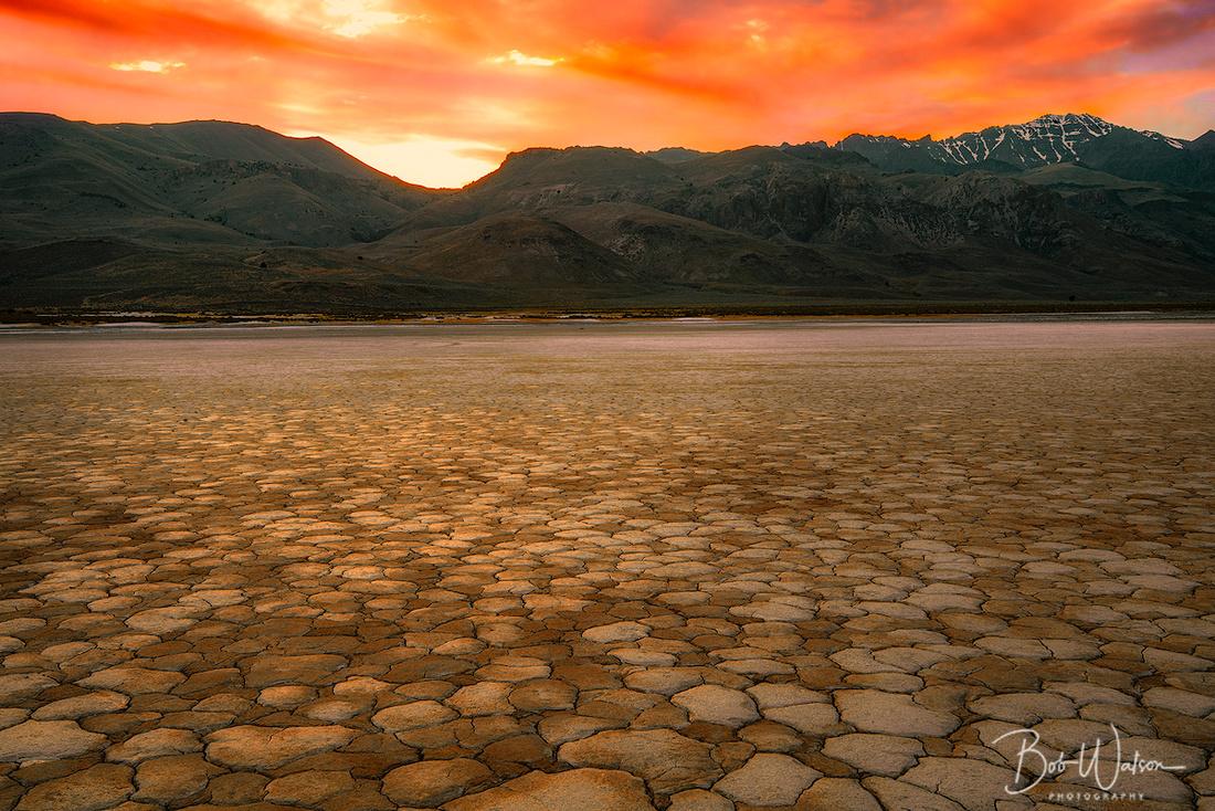 Sunset at Alvord Desert, Oregon