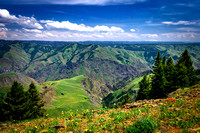 Hells Canyon, Hells Canyon National Recreation Area, Oregona/Idaho Border